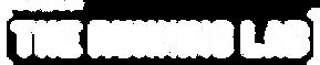 the running lab logo white