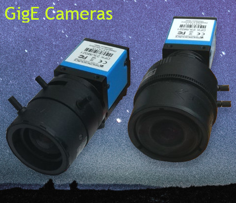 GigE Cameras for biomechanical analysis