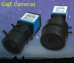GigE cameras for biomechanical analysis