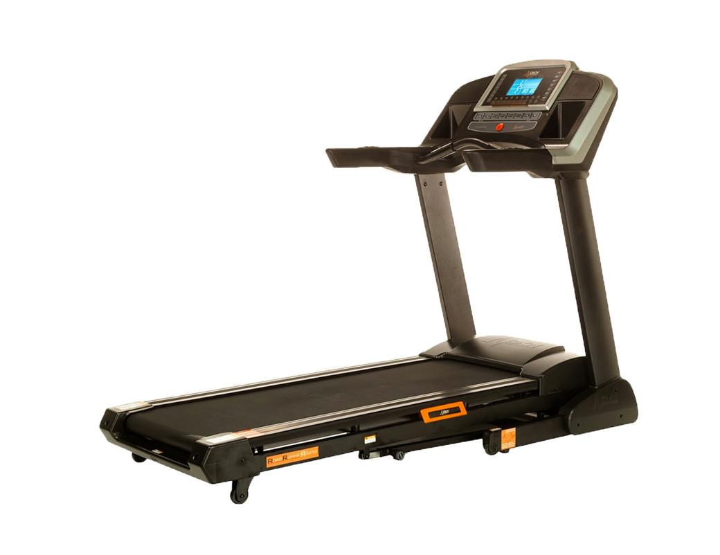 RunTime treadmill with pressure sensors
