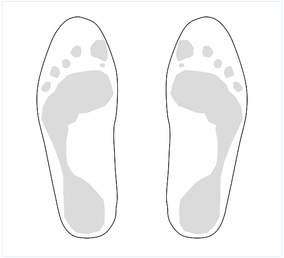 foot sketch template