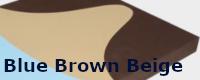 Blue Brown Beige