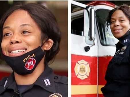 Philadelphia Fire Department promotes FIRST BLACK FEMALE CHIEF!!!