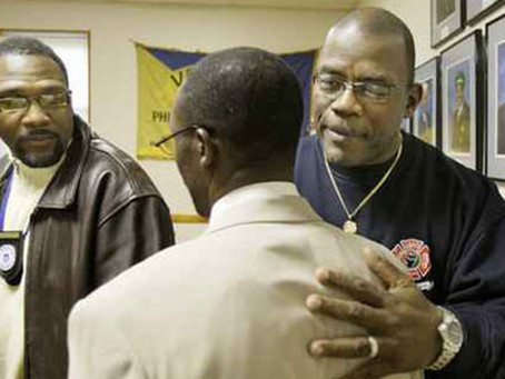 Black firefighters sue their union. Different TV, same episodes over 10 years ago.