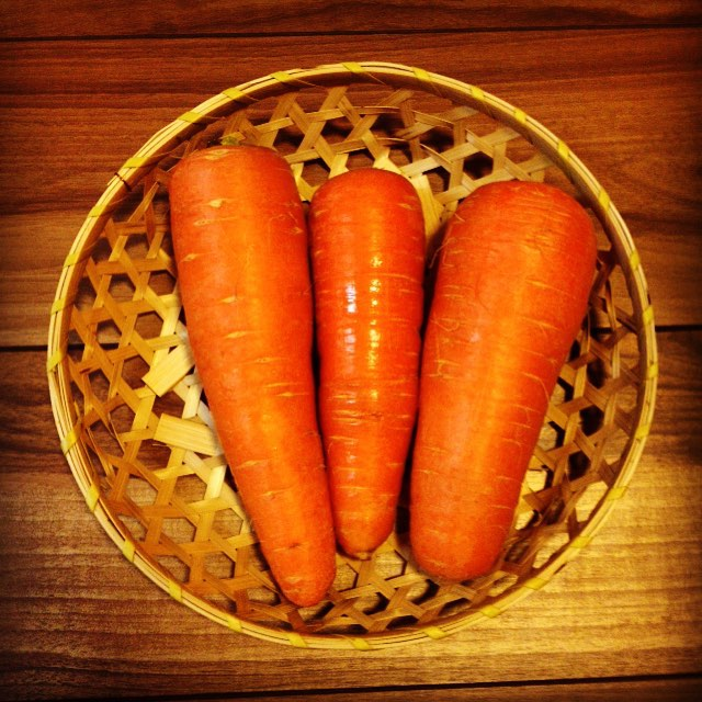 2016年初出荷の人参です_#vegitable #norakkusu #carrot