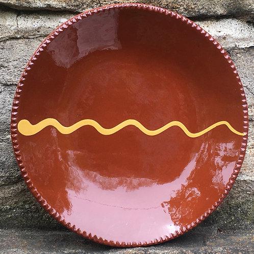 Slipware Plate  -  Sp338
