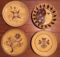 Learn how to sgraffito on clay