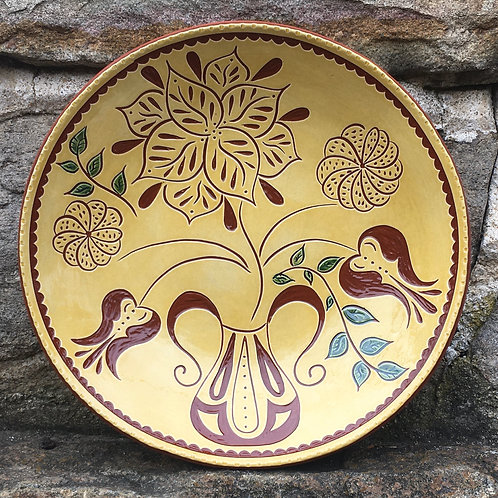 Five Flowers Plate - SG795