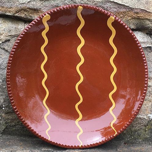 Slipware Plate  -  SP333