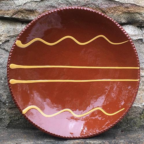 Slipware Plate  -  SP335