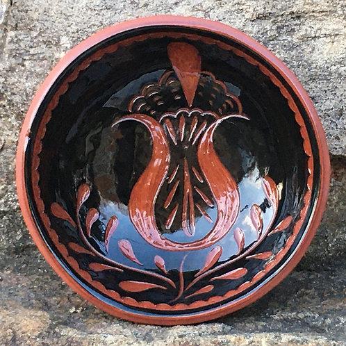 Tulip Bowl in Black - SG800