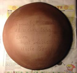 Plate Back