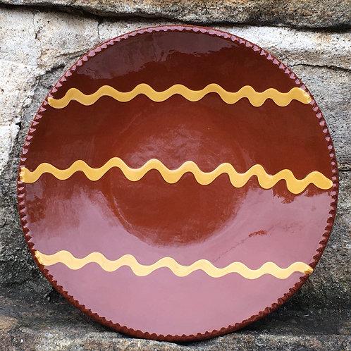 Slipware Plate - SP179