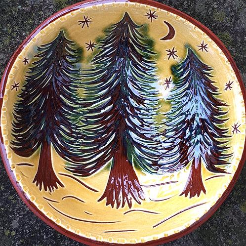 Three Trees Small Bowl - SG825