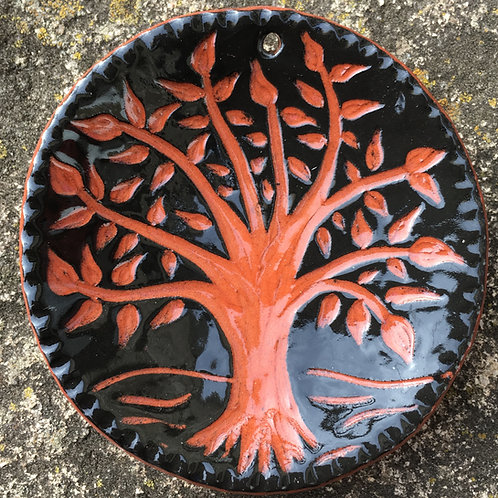 Tree Of Life Ornament in Black