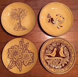 Make a PA German Redware plate