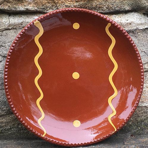 Slipware Plate  -  SP341