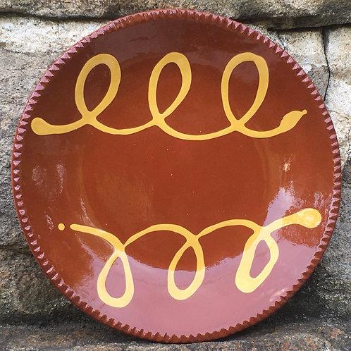 Slipware Plate - SP267