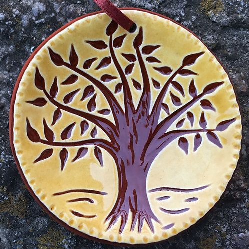 Tree of Life Round Ornament