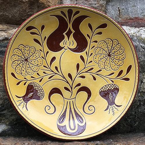 Five Flowers Plate