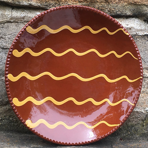 Slipware Plate  -  SP339