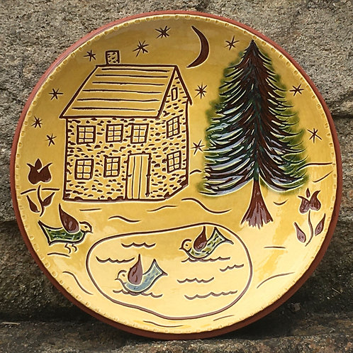 Cabin in the Woods Plate - SG863