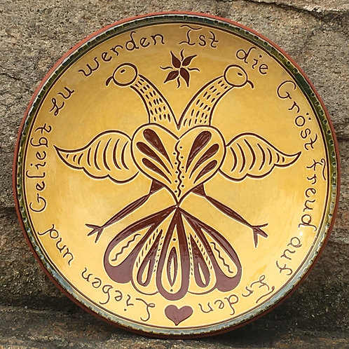 To Love and Be Loved Plate  - SG931