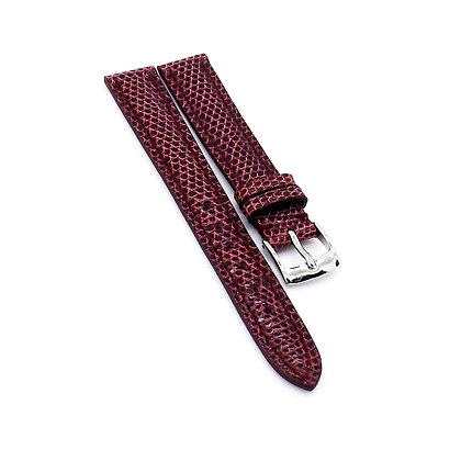 Ladies 14mm Pink Genuine Lizard watch strap