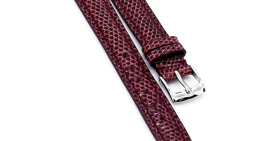 Ladies 14mm Pink Genuine Lizard watch strap