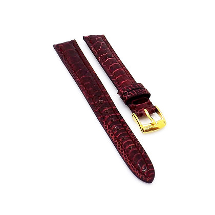 Ladies 12mm Red Chicken foot watch strap