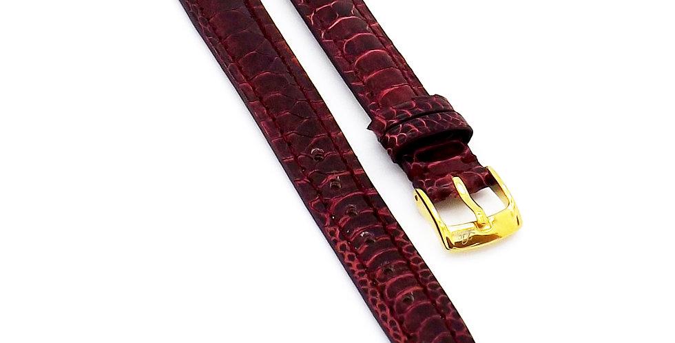 Ladies 12mm Red Chicken foot watch strap