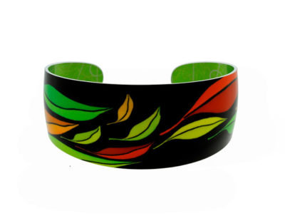 Seasons Green Bangle