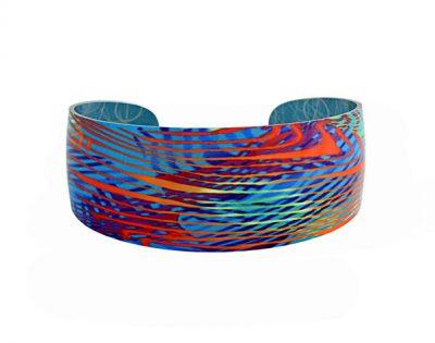 Weave Turquoise Bangle