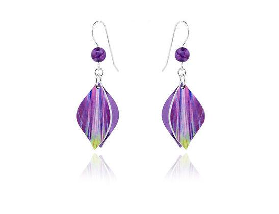 Salsa Purple Earrings