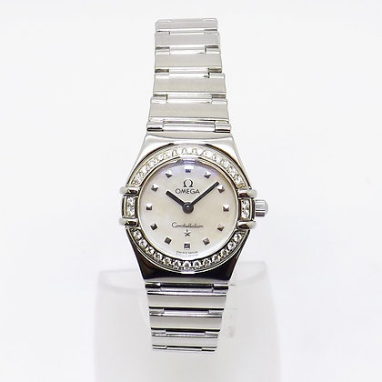 Omega Constellation with diamond (30) set bezel