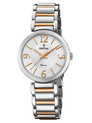 FESTINA LADIES 2 TONE WATCH