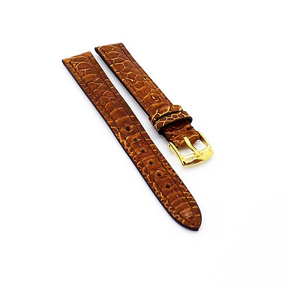 Ladies 12mm Brown Chicken foot watch strap