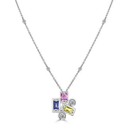 Diamond & Sapphire Confetti