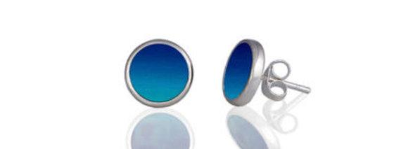 Ocean Blue Stud Earring