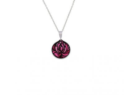 Blossom Cup Pink Pendant