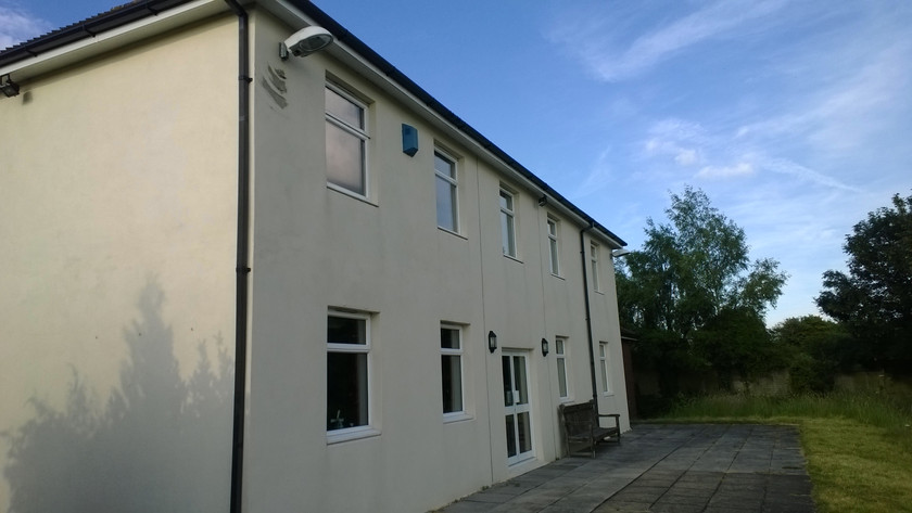 Rear of Chilcomb Down House