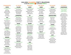 21-22 Halloween Party Volunteers IMAGE