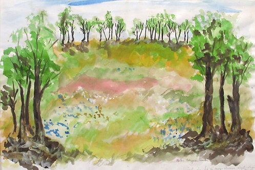 "Astri Bergman Taube, ""Se så många blommor...."""