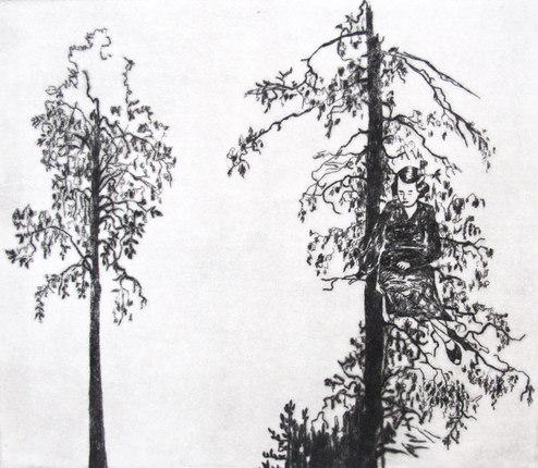 I trädtoppen
