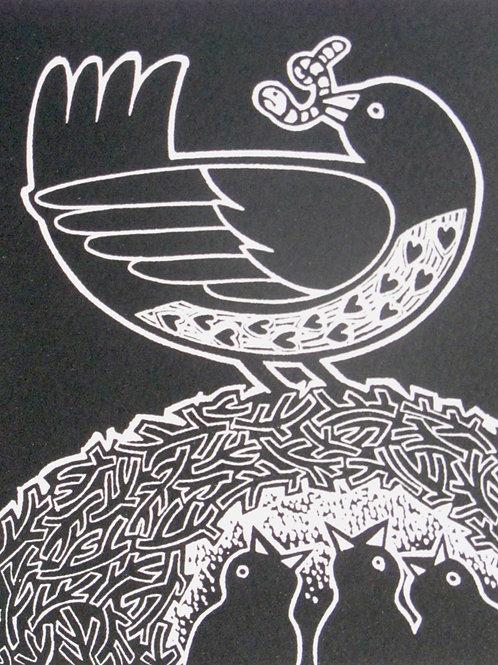 """Linda Farquharson """"Th Lino Bird VIII"""""""
