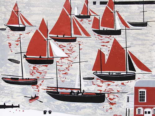 """Melvyn Evans """"The Whitstable Oyster Fleet"""""""