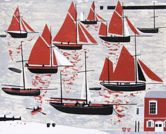 The Whitstable Oyster fleet