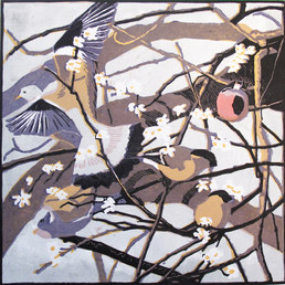 Bullfinches and Woodpigeons