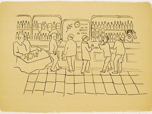 "Astri Bergman Taube ""En pastis på Bar..."