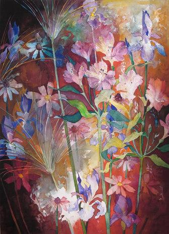 Blomsterfyrverkeri